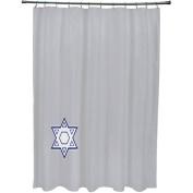 Star's Corner Geometric Print Shower Curtain