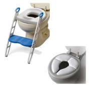 Mommy's Helper Contoured Cushie Step-Up with Cushie Traveller Potty Seat