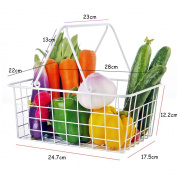 Storage Basket with Handle for Household,Kitchen,Vegetable And Fruit
