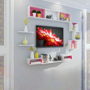 Amour Lighting Wall shelves lattice background wall partitions