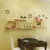 Amour Lighting Wall racks living room bedroom partitions shelves lattice combination