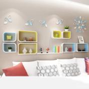 Amour Lighting Decorative frame Bedroom Living room Creative lattice Shelf wall partition Shelf