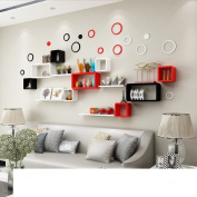 Amour Lighting Wall lattice racks bedroom partitions living room backdrops decorative shelves