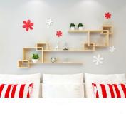 Amour Lighting Shelf living room bedroom partition shelves lattice combination