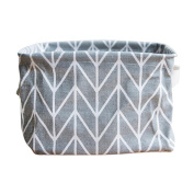 Foldable Colours Storage Bin Closet Toy Box Container Organiser Fabric Basket