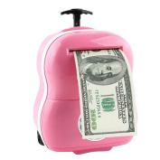 JoyJay Kids Digital ATM Money Bank Machine Cartoon Password Automatic Money Saving Children's Toy Money Box Pink