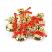 Sansee 6Pcs Christmas Tree Hanging Bells Jingle Pendant Party Decoration Xmas Ornaments