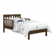 Baby Relax Carolina Toddler Bed, Mocha