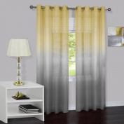 Mainstays Prism Single Grommet Window Curtain Panel