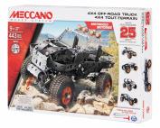 Meccano-Erector - 4x4 Off-Road Truck 25 Model Building Kit