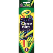 Extreme Colored Pencil Set, Assorted, 8/Set