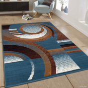 Allstar blue Area Rug. Contemporary. Abstract. Traditional. Formal. Shapes. Spirals. Circles