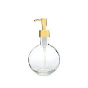 Rail19 Moon Round Glass Soap & Lotion Dispenser