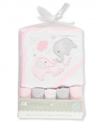 Petite L'amour Baby Girls' 6-Piece Bath Set