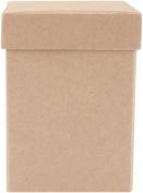 Papier Mch - Paper Mache Boxes & Frames - Square Box - High Set of 3
