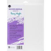 iCraft Mixed Media Sheets 22cm x 28cm 10/Pkg