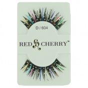(6 Pack) RED CHERRY Stone / Colour False Eyelashes - RCPD/606