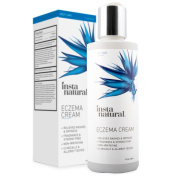 InstaNatural Eczema cream – Anti Itch Treatment & Redness Relief From The Irritation Of Psoriasis & Rosacea – Natural Moisturising Lotion