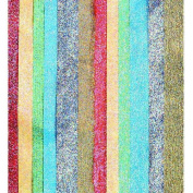 Kolorfast Non-Bleeding Lustre Tissue Paper, 50cm x 80cm , Assorted Metallic Colours, Pack Of 14