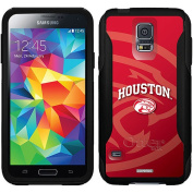 University of Houston Cougars Red Design on OtterBox Commuter Series Case for Samsung Galaxy S5