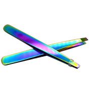 MML Stainless Steel Eyebrow Tweezers Eyelash Curler Clip Plucking Beauty Tools