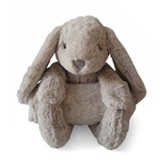 Little Starter Baby Bunny Plush and Blanket Set, Brown