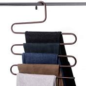 2 S-type Multi-Pants Rack/Coat Hanger/Wardrobe Pants Rack-A