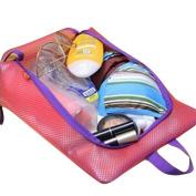 Nibesser Portable Waterproof Shoe Bag Beach Mesh Tote Bag for Travel, Beach, Pool