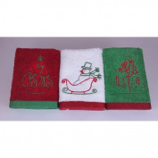Enchante Home Merry Christmas Wash Cloth
