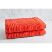 LOFT by Loftex Cascading Solid Oversized Cotton Bath Towel