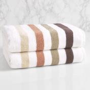LOFT by Loftex Bars Cotton Bath Towel
