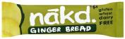 Nakd Ginger Bread Raw Bar, 35g