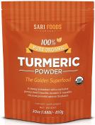 Pure Natural Organic Turmeric Powder (890ml)