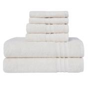 LOFT by Loftex Modern Home Trends Cotton 6-Piece Towel Set