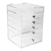 Acrylic Makeup Organiser Cube (5 Drawers) By N2 Makeup Co
