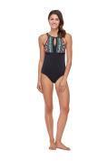 Skye Women's Mactan Olivia High Neck One Piece Swimsuit