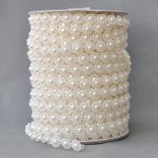 10mm Crystal Beads Garland like a Big Flower by the roll -Wedding Party Decor DIY Accessory decorat Bride dress(25 Metres/80Feet)