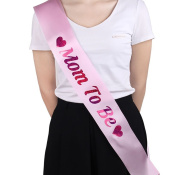 """LAAT 1PC New Ladies Etiquette Belt Hen Party Sashes Hen Party Sash """"Mom to be"""" Printed for Wedding Party Decoration 78*9.5cm"""