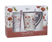 Bronnley The Royal Horticultural Society Poppy Meadow Collectors Mug Gift