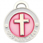083100 luxepets CROSS Charm Blue, Small
