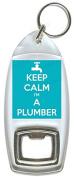 Keep Calm I'm A Plumber - Bottle Opener Keyring
