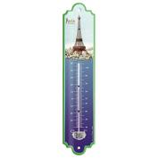 """Editions Clouet – 57058 Thermometer '30x8 cm Eiffel Tower la Tour Eiffel """""""