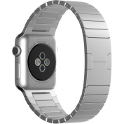 Beikel Apple Watch 3 42mm Stainless Steel Link Bracelet with Butterfly Closure Replacement Band for Apple Watch Series 1 2 & 3