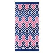 clairebella Diamond Chevron Beach Towel
