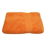 Julie Julsen Guest Towel 30 x 50 cm Available in 23 Colours Soft and Absorbent 500gsm Oeko Tex, Cotton, Orange, 30 cm x 50 cm