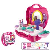makeup kit for little girls. pretend play make up kit for little girls kids,lifesports cosmetic case toy beauty salon makeup