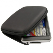 Insten Premium GPS Carrying Eva Case For Garmin Nuvi 255W 200w 205w 250w 260w 1300 1350 1370 - Black