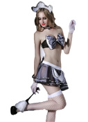 GBT Maid Lace Lkirt With Lexy Lingerie