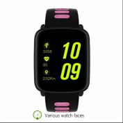 Outdoors Fitness Sport Watch,Convenient and practical,Vibrating Alarm Sport Activity Trackers,Remote Shoot,Colour Display,Alarm,Sports Bracelet and Pedometer for Boys,Girls,Men & Women