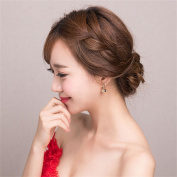 DELLT- Korean version of the small metal jewellery gold ball earrings wild earrings female simple earrings decorative accessories